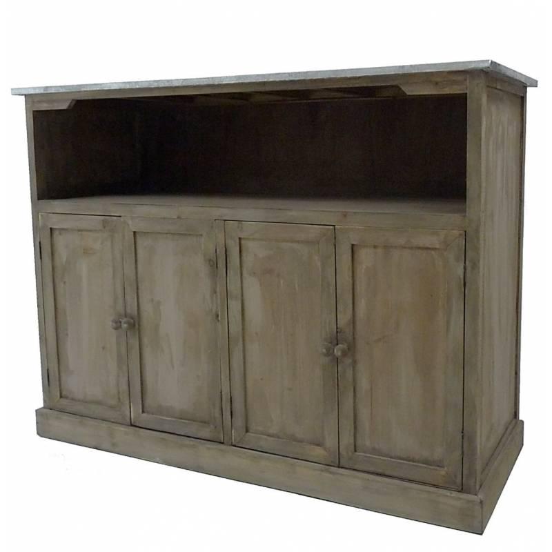 Plateau de bar en bois maison design Meuble comptoir cuisine ikea