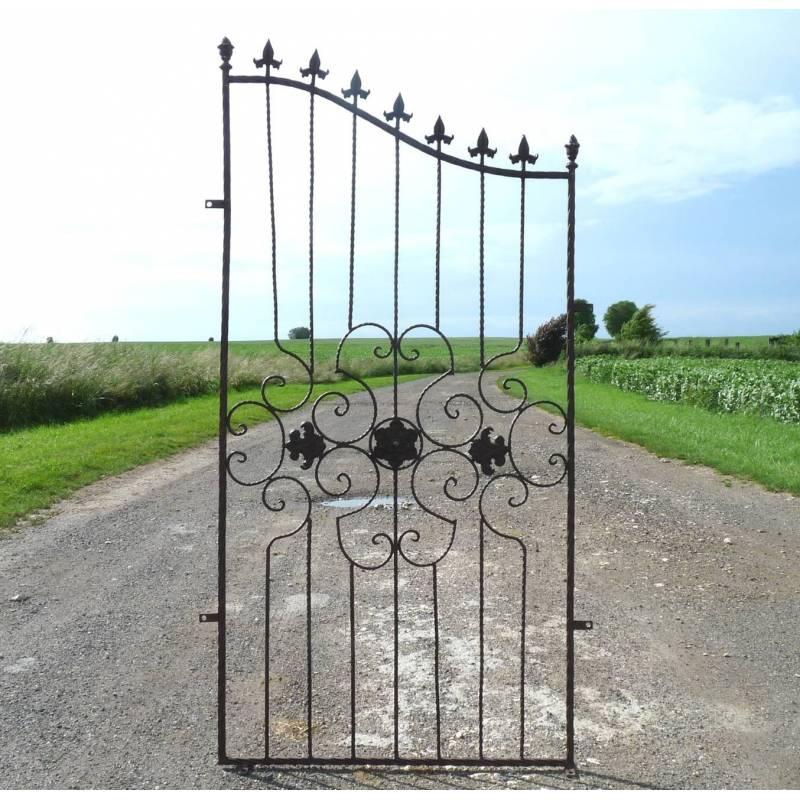 Barrière de Jardin Cloture Grille Garde Corps en Fer et ...