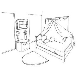 Espace chambre