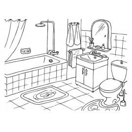 Espace salle de bain