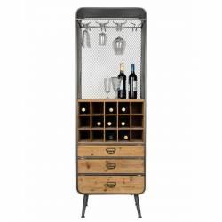 Vinothèque, armoire à vin