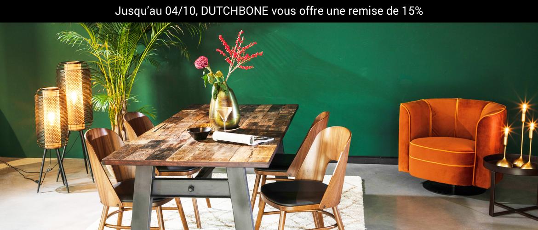 Promo Dutchbone -15%
